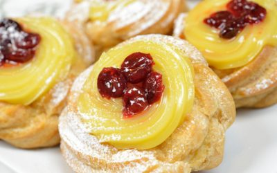 Zeppole, an Italian Dessert in Time for Easter at Lorenz Foods
